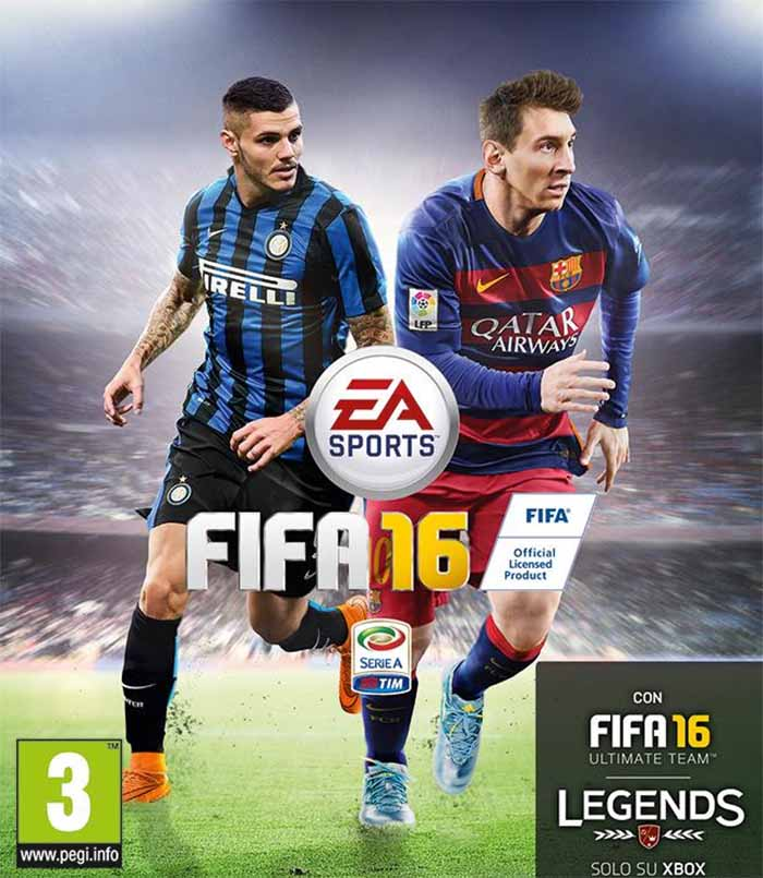 Portadas de FIFA 16 - Mauro Icardi