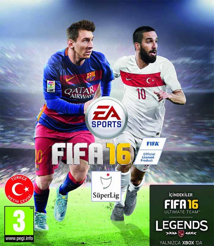 Portadas de FIFA 16 - Arda Turan