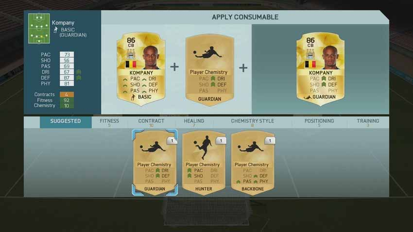 Glosario de FIFA 16 Ultimate Team