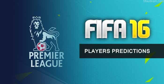 FIFA 16 Premier League Players Predictions