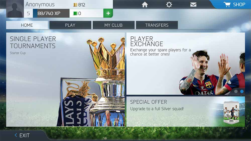 FIFA 16 Mobile para iOS, Android e Windows Phone