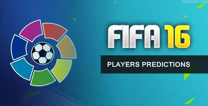 FIFA 16 Liga BBVA Players Predictions