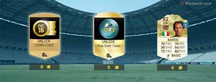 Valores de Descarte de Cartas de FIFA 16 Ultimate Team: Jogadores, Staff, Consumíveis e Itens de Clube