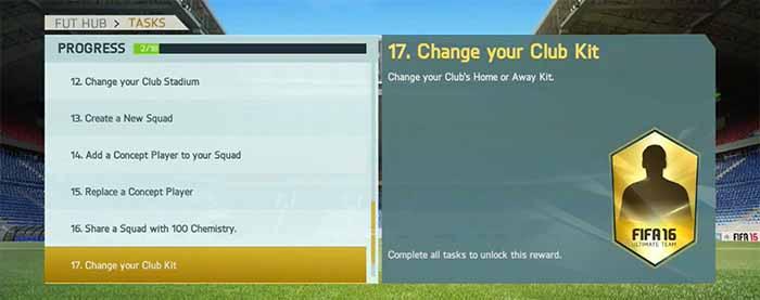 Tutorial das Tarefas do Manager em FIFA 16 Ultimate Team