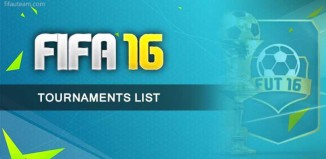 All the FIFA 16 Ultimate Team Tournaments