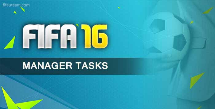 FIFA 16 Ultimate Team Manager Tasks Guide