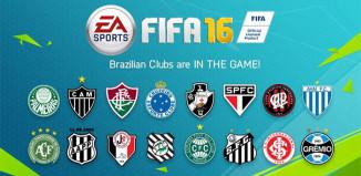 Sixteen Brazilian Teams Included into FIFA 16