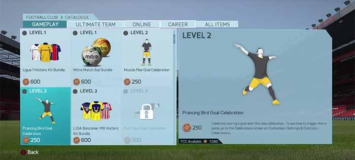 Guia do Catálogo EAS FC para FIFA 16 Ultimate Team