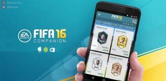 FIFA 16 Companion App for iOS, Android and Windows Phone