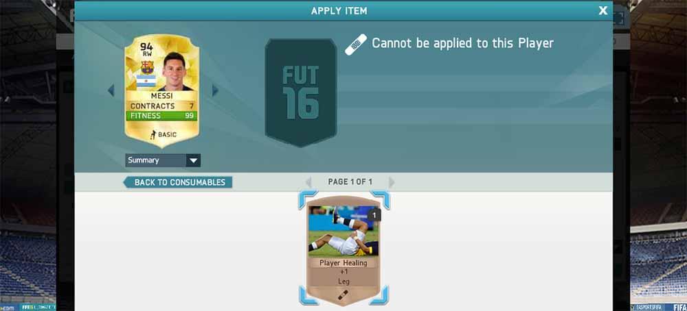Guia de Fisioterapeutas para FIFA 16 Ultimate Team