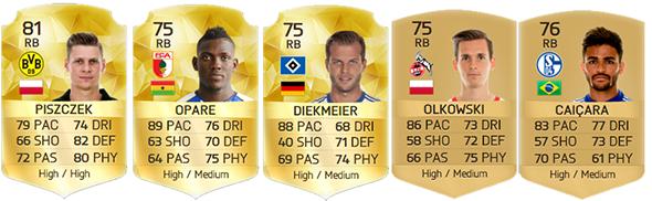 Guia da Bundesliga para FIFA 16 Ultimate Team - RB