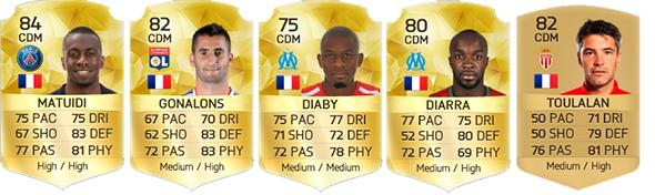 Guia da Ligue 1 para FIFA 16 Ultimate Team - CDM
