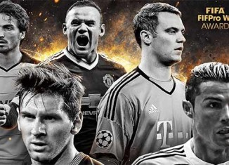 TOTY of FIFA 16 Ultimate Team - The Nominees