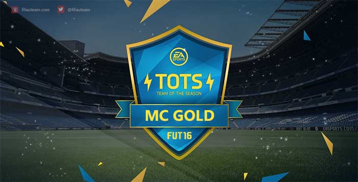 FIFA 16 Gold Most Consistent Never IF Team of the Season