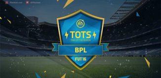 FIFA 16 Barclays Premier League Team of the Season