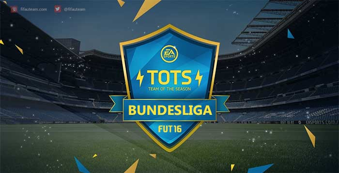 FIFA 16 Bundesliga Team of the Season