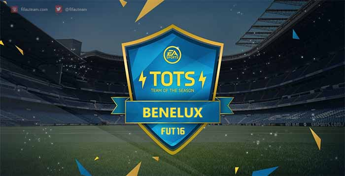 FIFA 16 Benelux Team of the Season