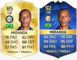 Team of the Season da Serie A de FIFA 16