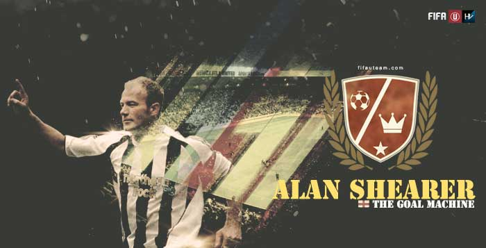 FIFA Legends: Alan Shearer, the goal machine