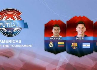 FIFA 16 Copa America's Team of the Tournament