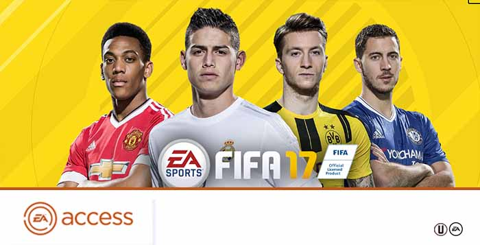 FIFA 17 EA Access Guide for FIFA Ultimate Team