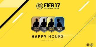 FIFA 17 Ultimate Team Happy Hour List