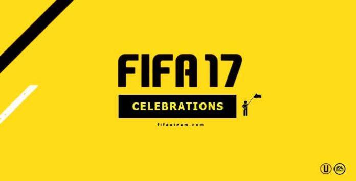 FIFA 17 Celebrations Guide