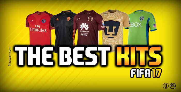 FIFA 17 Kits - The Best Kits for FIFA 17 Ultimate Team d59e91147
