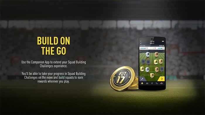 Companion App de FIFA 17 para iOS, Android e Windows Phone