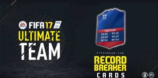 FIFA 17 Record Breaker Cards Guide for FIFA 17 Ultimate Team