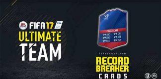 FIFA 17 Record Breaker Cards Guide for FIFA 17 Ultimate Team