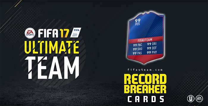 FIFA 17 Players Cards Guide - Record Breaker Cards