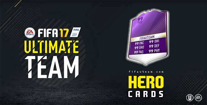 FIFA 17 Players Cards Guide - Heroes Cards