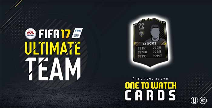 FIFA 17 Players Cards Guide - Ones to Watch Cards