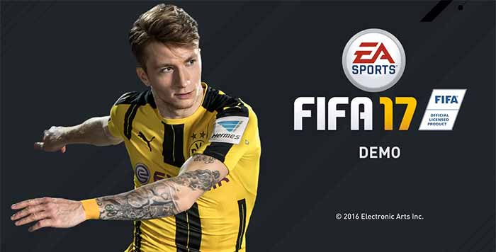 Demo de FIFA 17 - Feedback da Comunidade