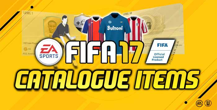 abcb6fd489a FIFA 17 Catalogue Items for FIFA 17 Ultimate Team