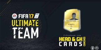 FIFA 17 Head Coaches and Goalkeeper Coaches Guide for FUT