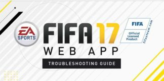 FIFA 17 Web App Troubleshooting Guide