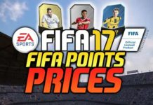 FIFA Points Prices for FIFA 17 Ultimate Team and Packs Prices