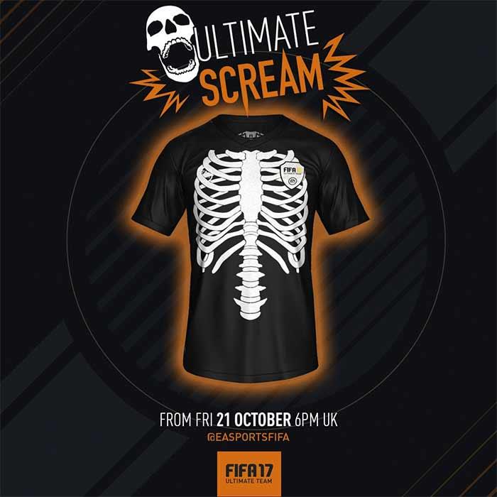 Ultimate Scream - A Promoção do Haloween de FIFA 17