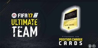 FIFA 17 Position Change Cards Guide