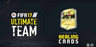 FIFA 17 Healing Cards Guide for FIFA 17 Ultimate Team