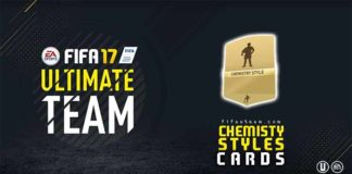 FIFA 17 Chemistry Styles Cards for FIFA 17 Ultimate Team