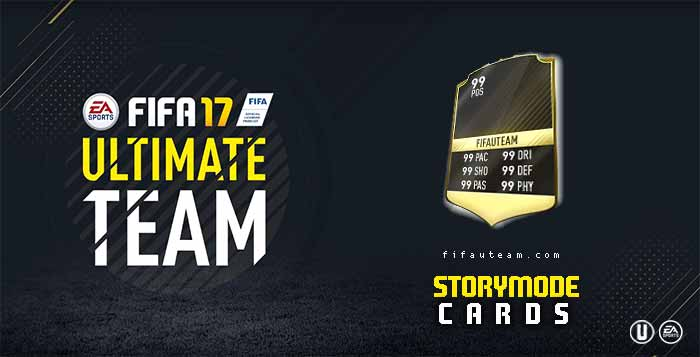 FIFA 17 Players Cards Guide - Storymode Cards