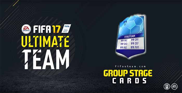 FIFA 17 Players Cards Guide - Group Stage Cards