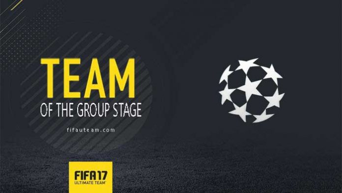 FIFA 17 TOTGS - Team of the Champions League Group Stage