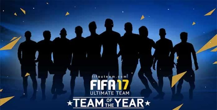 TOTY of FIFA 17 Ultimate Team - The Best Players of 2016