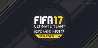 FIFA 17 Squad Rating Guide - New Team Rating Overall Formula