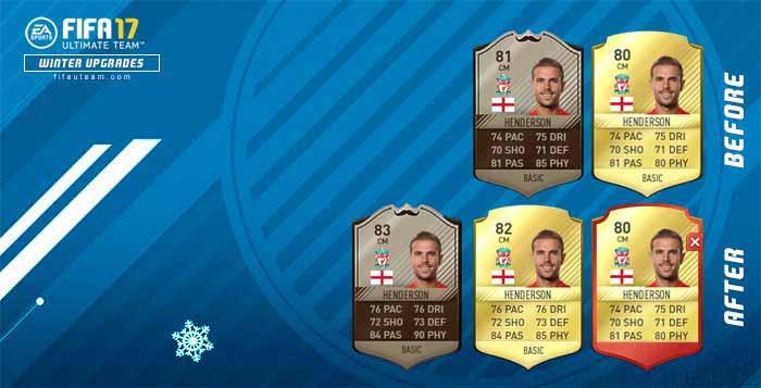 Como Funcionam os Upgrades de Inverno em FIFA 17?