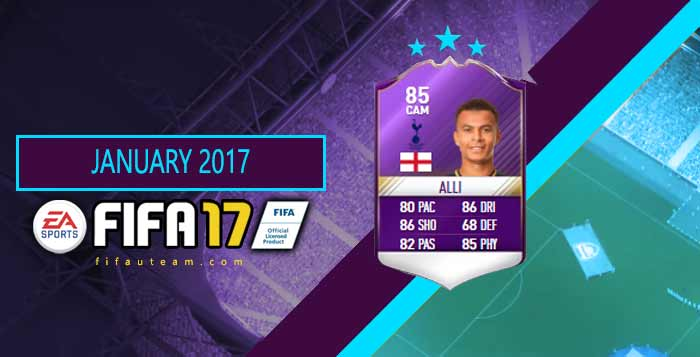 FIFA 17 Player of the Month List - Premier League's POTM Cards